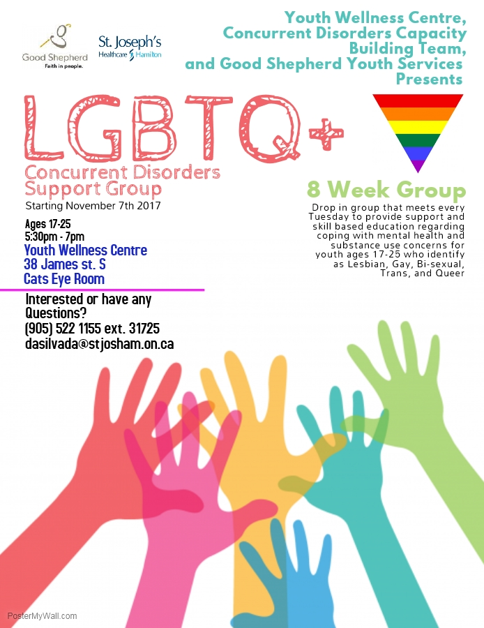 Nov: LGBTQ+ Concurrent Disorders Group