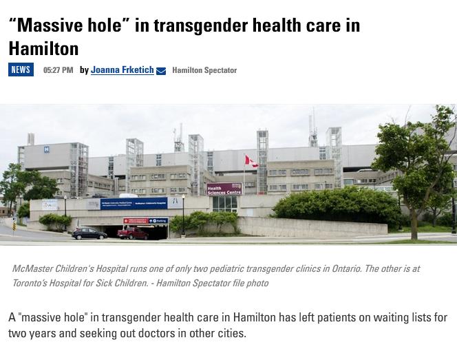 """The Spec: """"Massive hole"""" in transgender health care in Hamilton"""