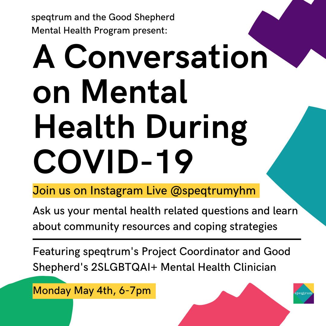 A Conversation on Mental Health During COVID-19 (May 4)