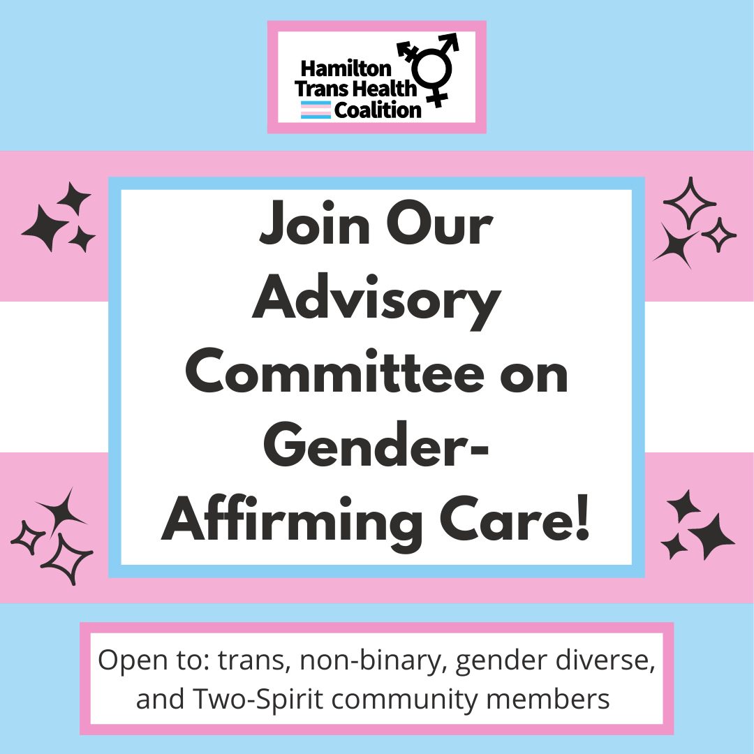 We are creating an Advisory Committee for gender-affirming care!